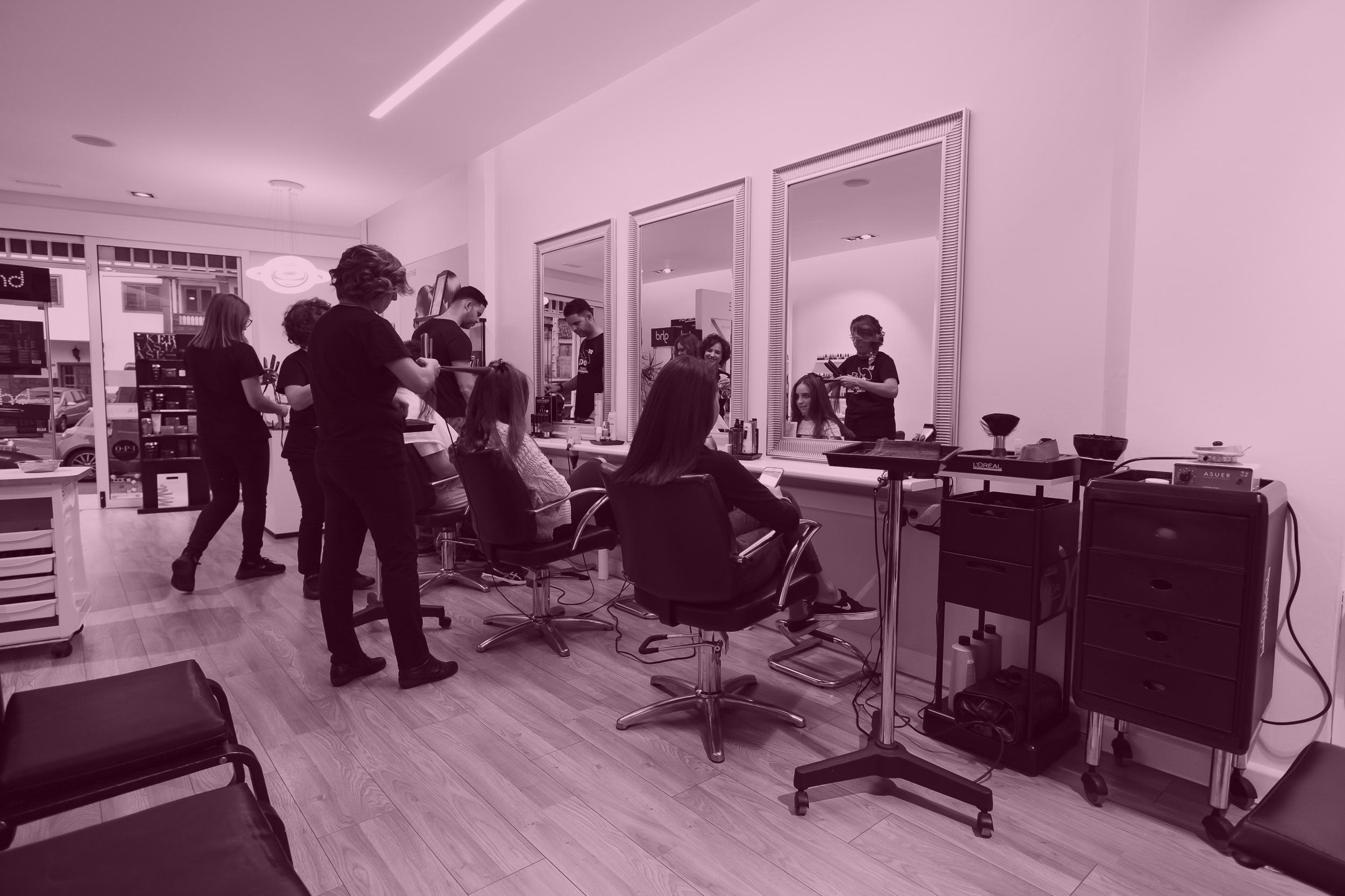 salón de belleza, peluquería Margot