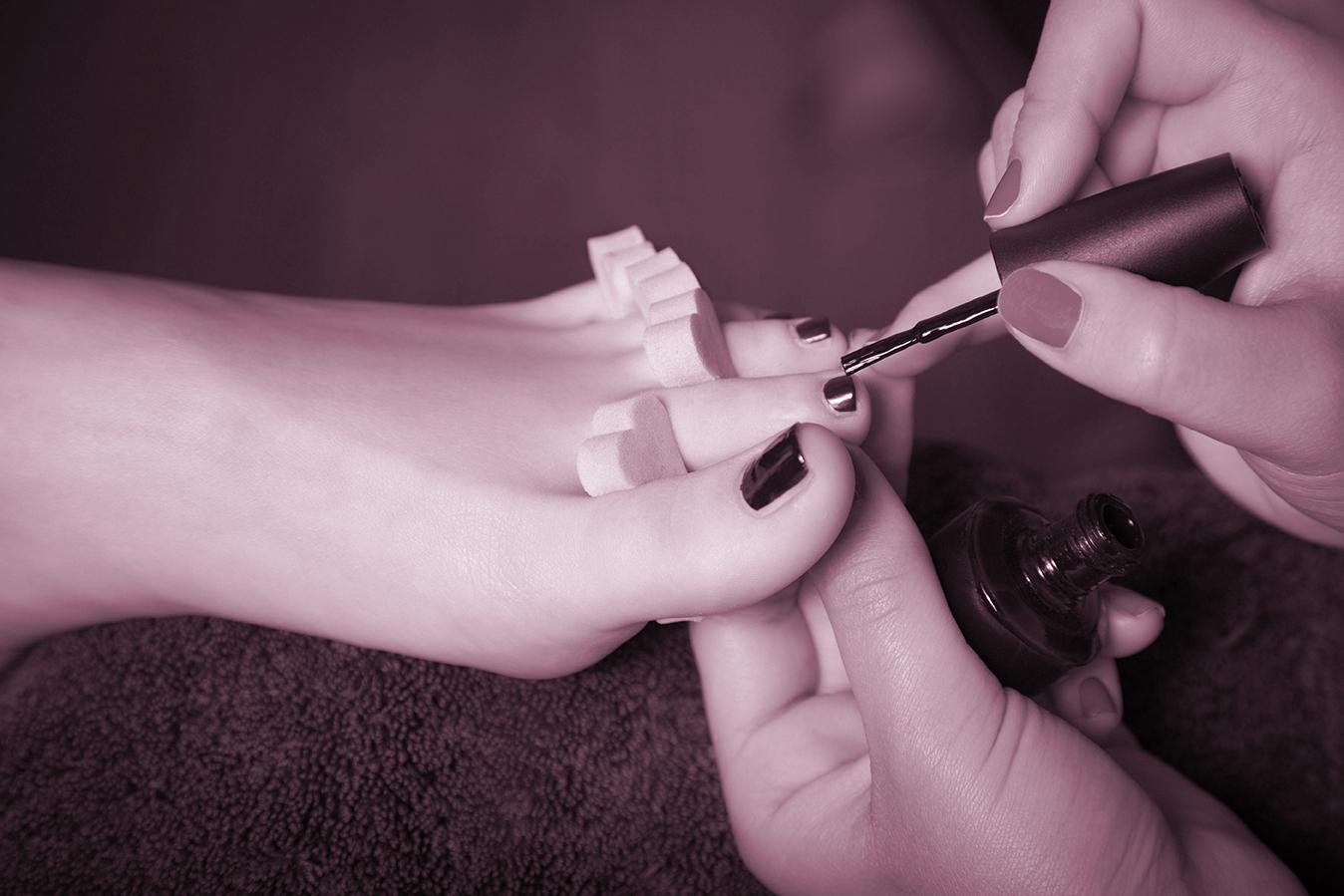 pedicura, servicios peluquería margot