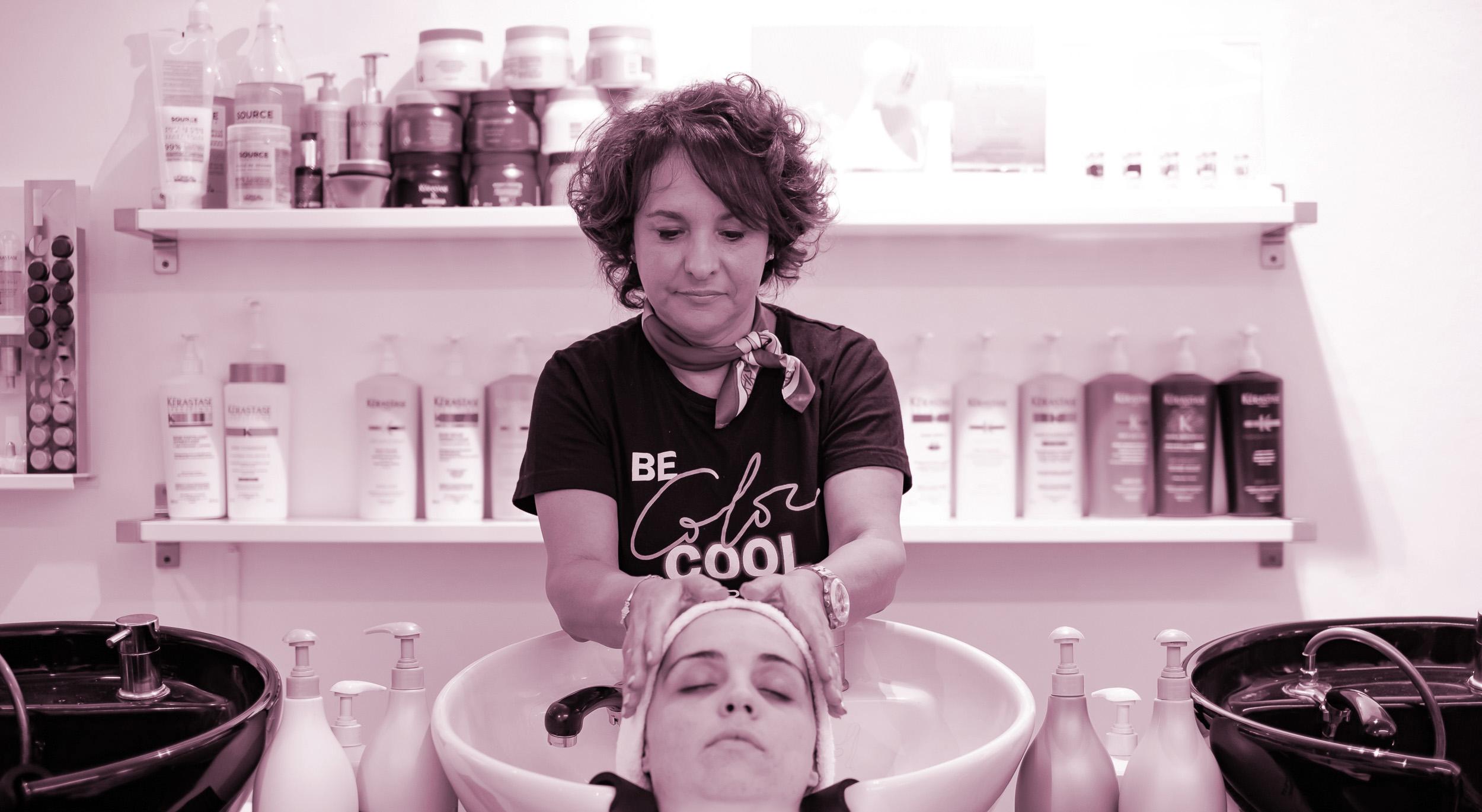 slide tratamientos capilares, peluquería margot